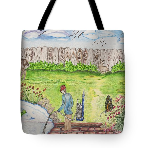 A Saturday Afternoon Tote Bag