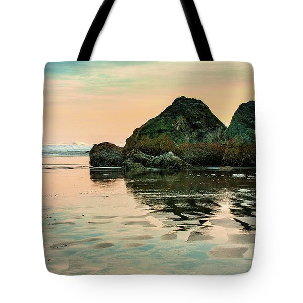 A Scene From The Beach Tote Bag