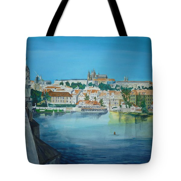 A Scene In Prague 3 Tote Bag