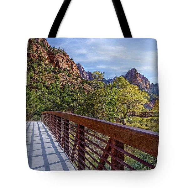 A Scenic Hike Tote Bag