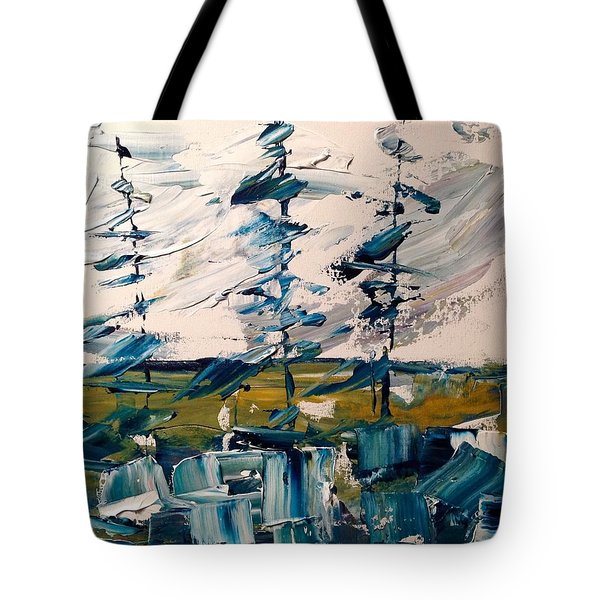 A Scrape Of Pines Tote Bag