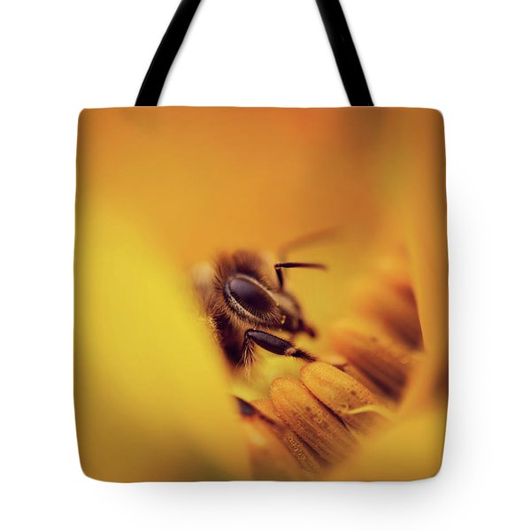 A Sea Of Yellow Tote Bag