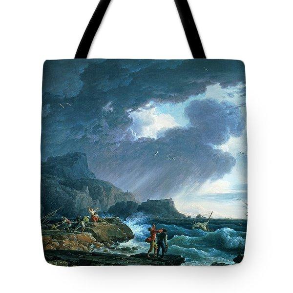 A Seastorm Tote Bag