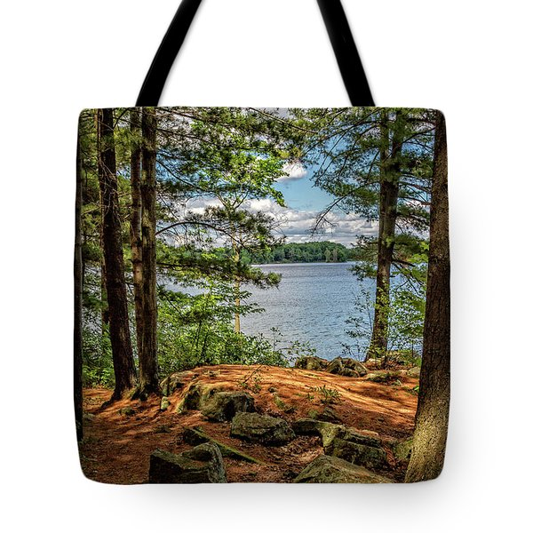 A Secluded Spot Tote Bag