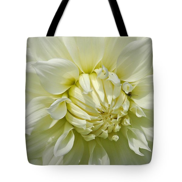 A Secret Visitor Tote Bag by Cindy Manero