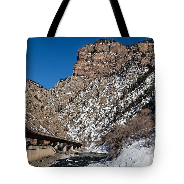 A Section Of The World-famous Glenwood Viaduct Tote Bag