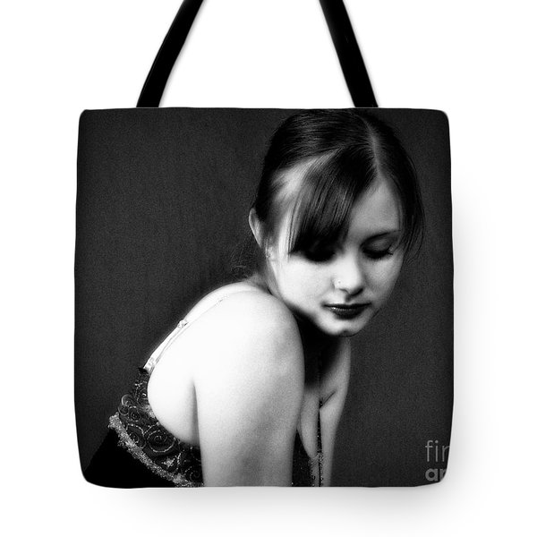 Tote Bag featuring the photograph A Sense Of Self  ... by Chuck Caramella