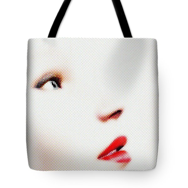 A Sense Of Wonder - Halftone Tote Bag
