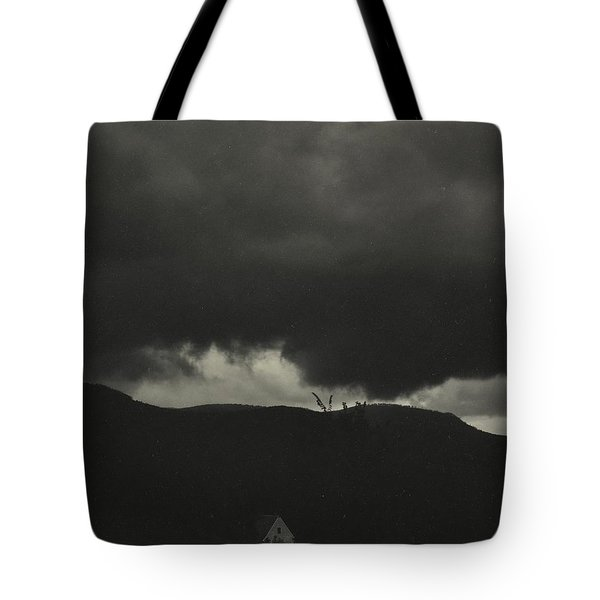 Tote Bag featuring the pyrography A Sequence Of Ten Cloud Photographs by Artistic Panda