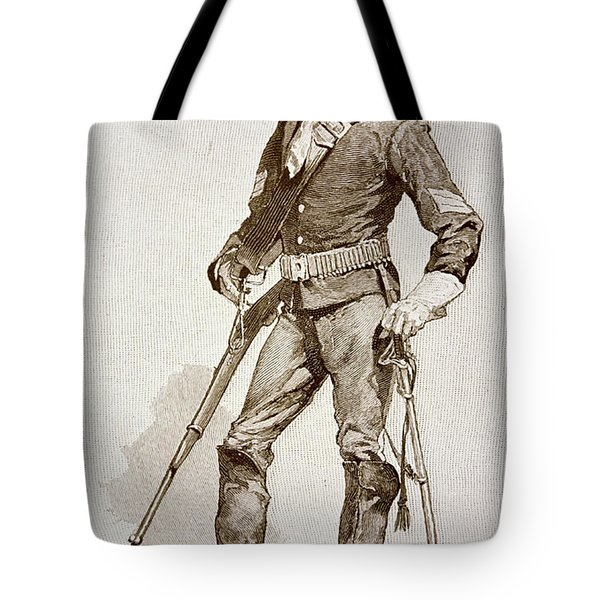 A Sergeant Of The Us Cavalry Tote Bag