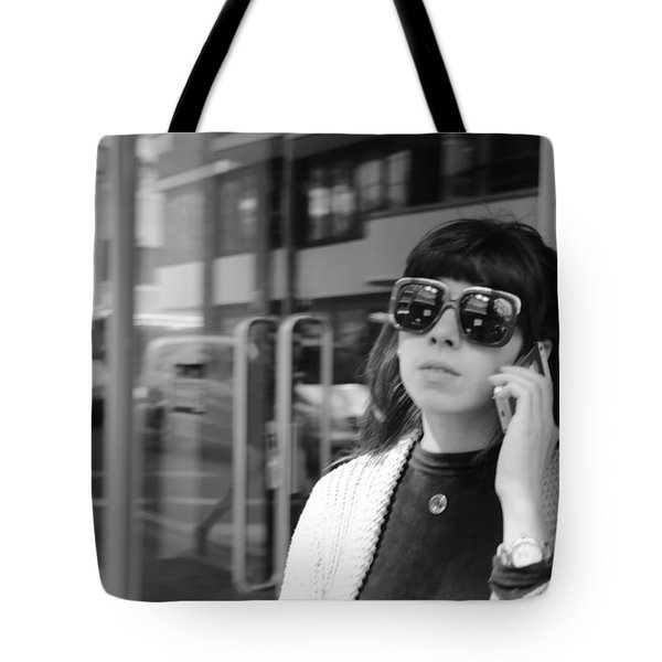 A Shade Of Difference Tote Bag