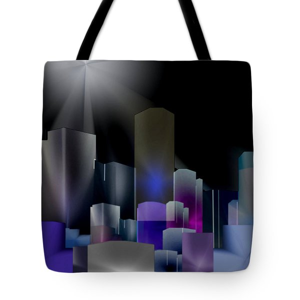 A Shining Light Tote Bag