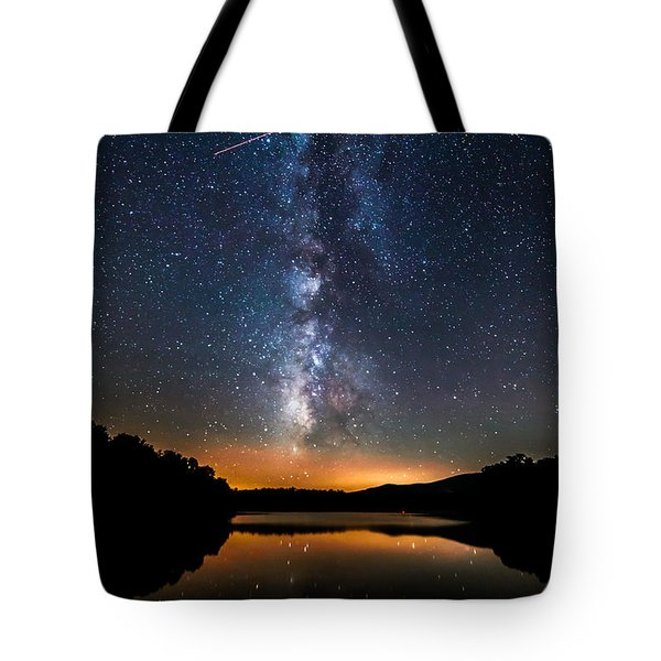 A Shooting Star Tote Bag by Robert Loe