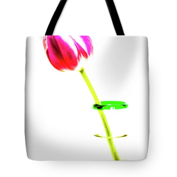 Tulip Shot Tote Bag