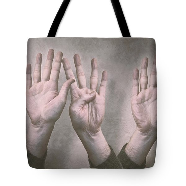 A Show Of Hands Day 197 Tote Bag