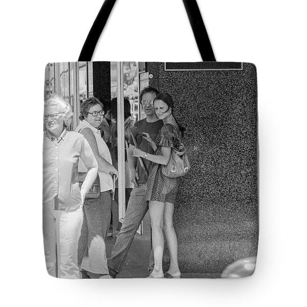 A Sidewalk Conference Tote Bag