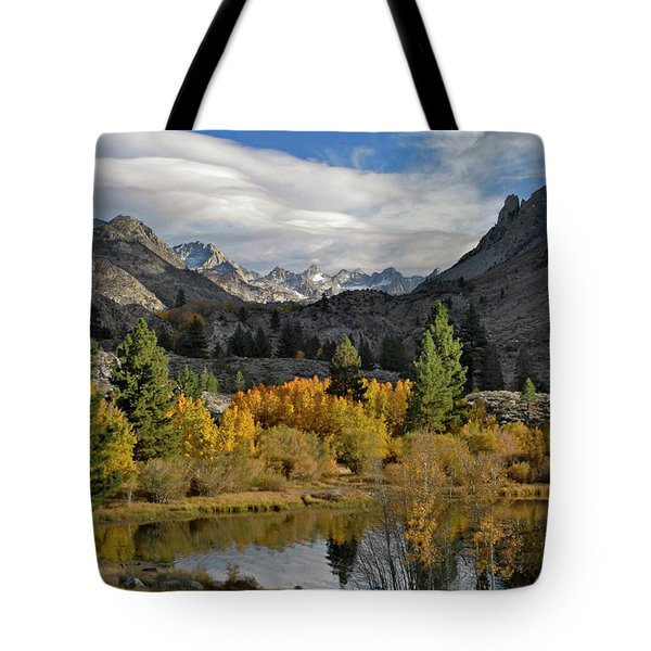 A Sierra Mountain View Tote Bag