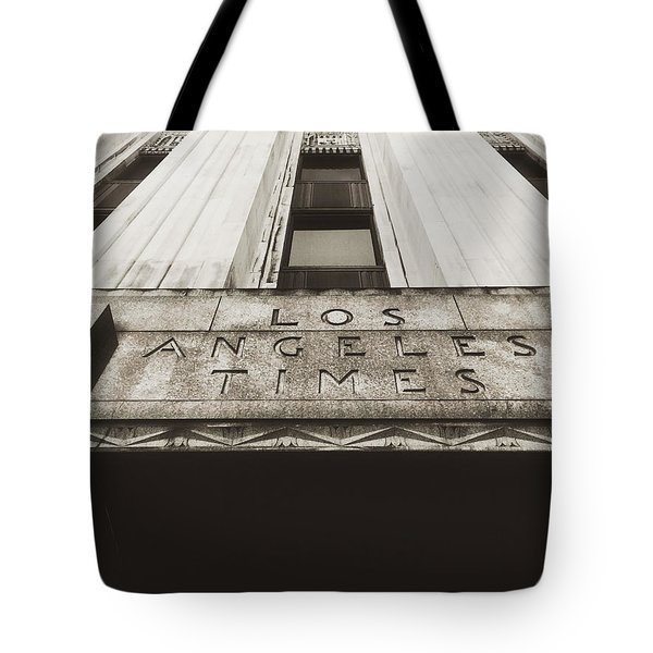A Sign Of The Times - Vintage Tote Bag