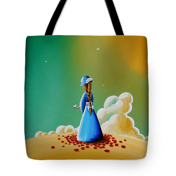 A Simple Melody Tote Bag