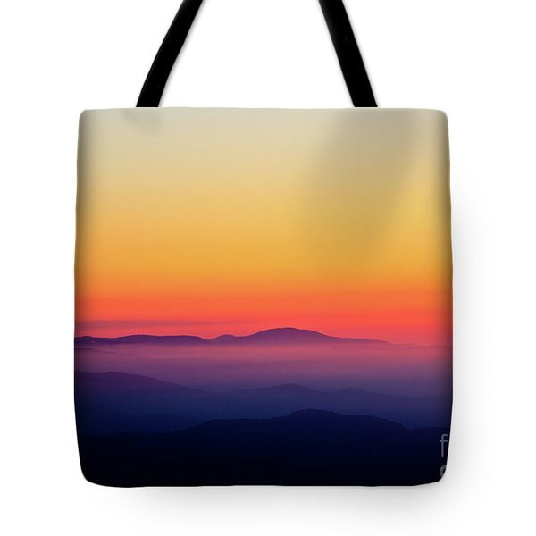 Tote Bag featuring the photograph A Simple Sunrise by Douglas Stucky