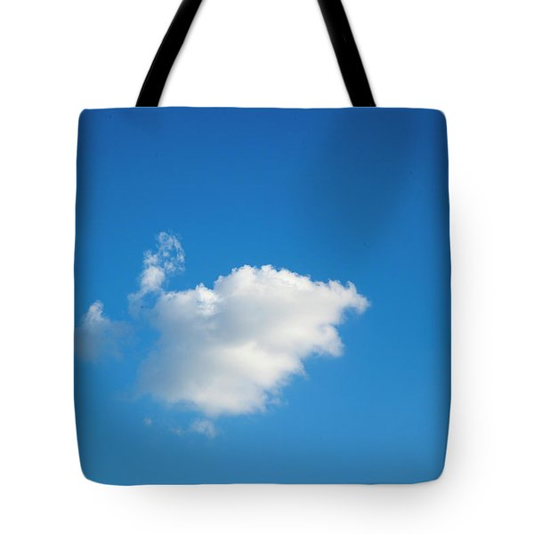 A Single Cloud Tote Bag