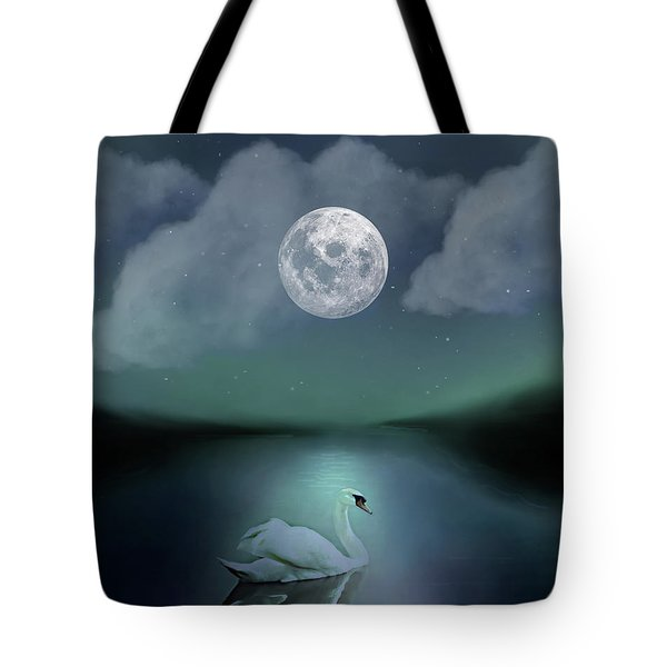 A Single Swan Tote Bag