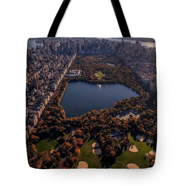 A Slice Of New York City  Tote Bag