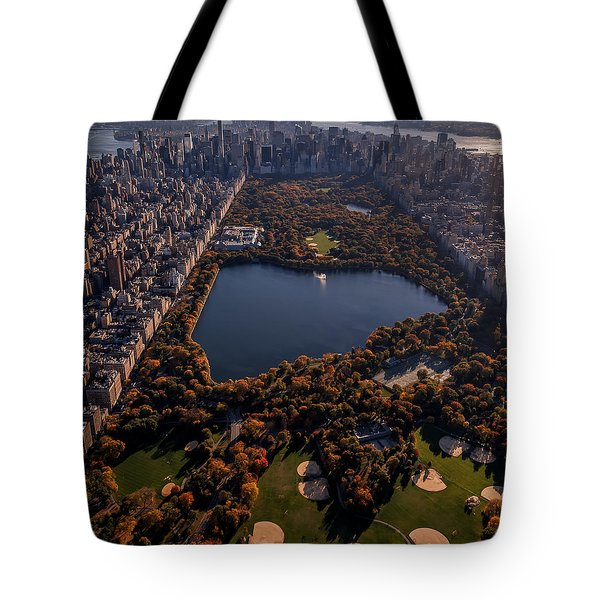 A Slice Of New York City  Tote Bag
