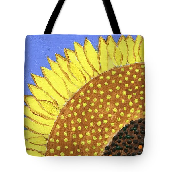 A Slice Of Sunflower Tote Bag
