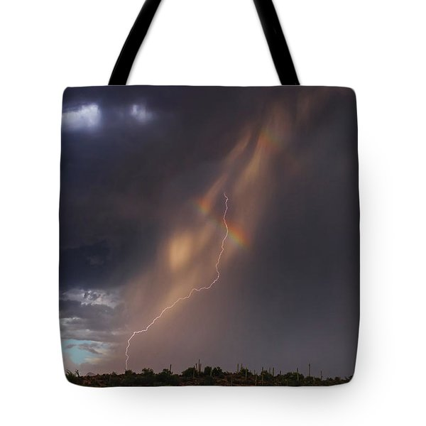 Tote Bag featuring the photograph A Sliver Of Color by Rick Furmanek