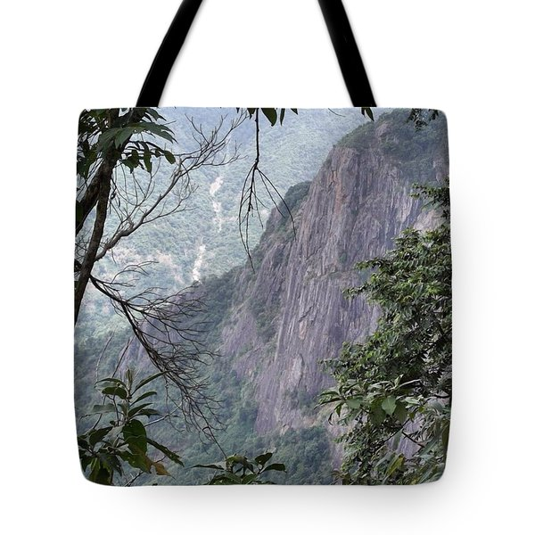 A Small Gap In The Trees Provided This Tote Bag