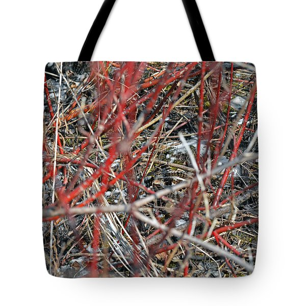 A Small Open Window To Show You My Camouflage Tote Bag