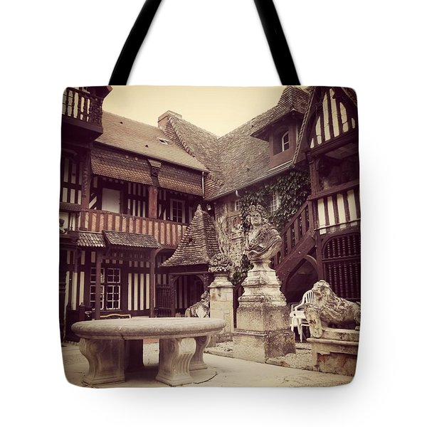 Courtyard Cliche Tote Bag