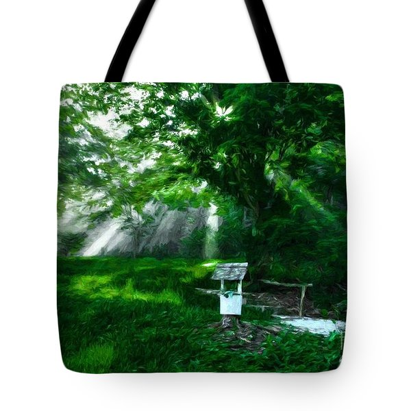 Tote Bag featuring the photograph A Small Wish 3 by Mel Steinhauer