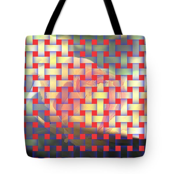 A Soft Rose   Tote Bag by Jeff Swan