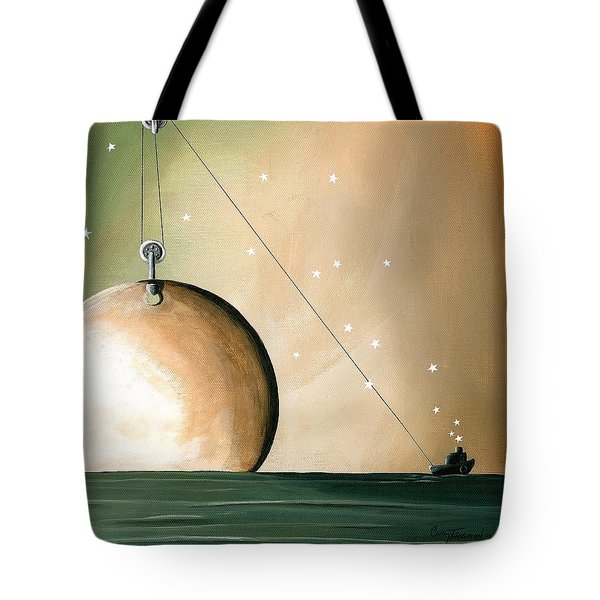 A Solar System Tote Bag by Cindy Thornton