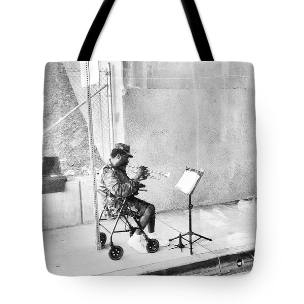 A Soldier's Song Tote Bag