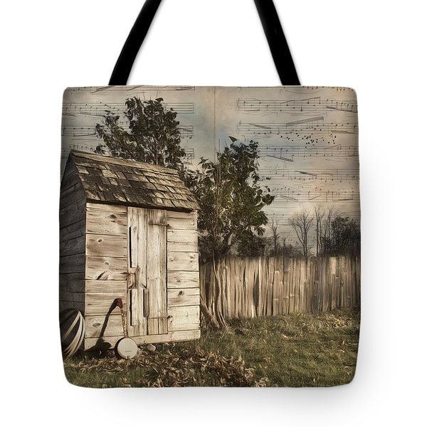 Tote Bag featuring the photograph A Song Before You Go by Robin-Lee Vieira