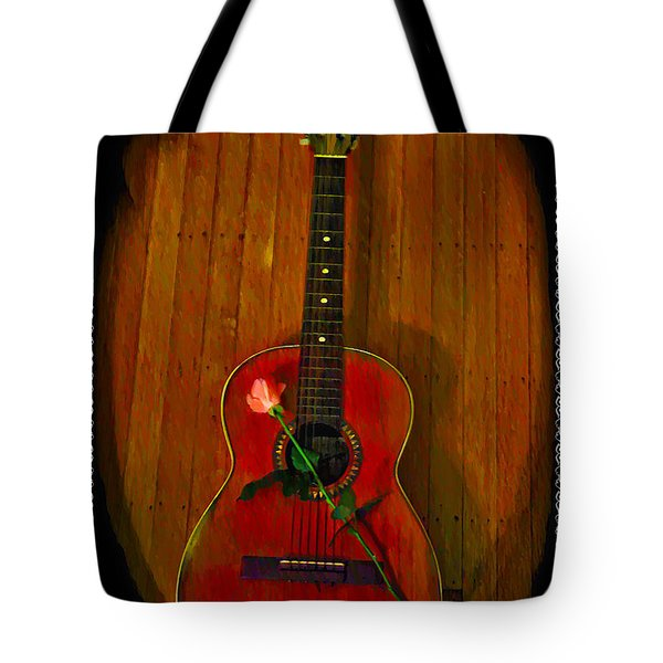 A Song For My Love Tote Bag by Bill Cannon