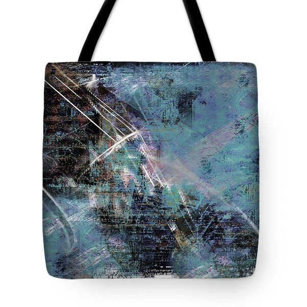 Tote Bag featuring the digital art A Song Of Spring by Art Di