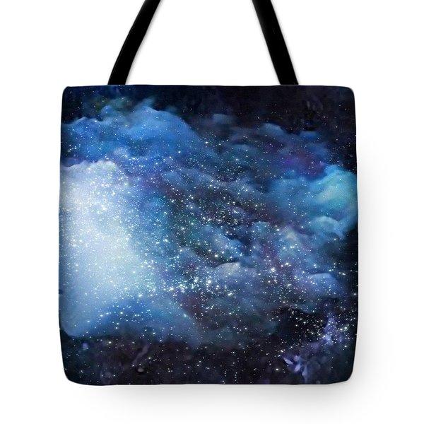 A Soul In The Sky Tote Bag by Gun Legler