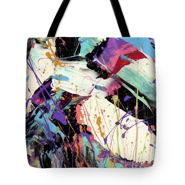 A Space Of Possibles Abstract Tote Bag