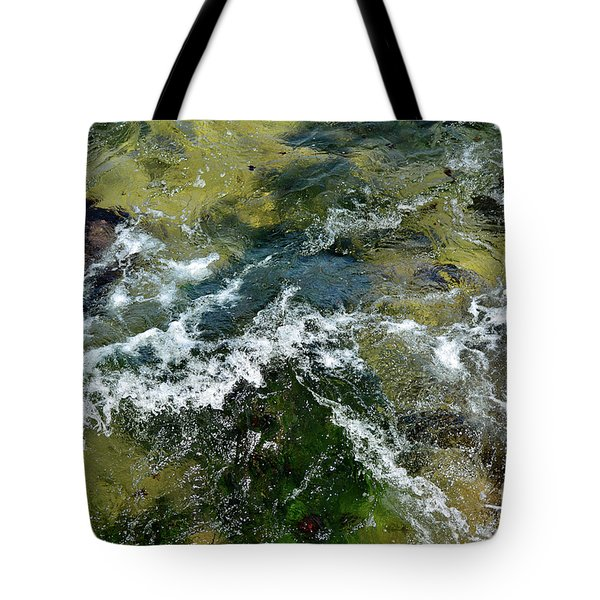 A Sparkling Ocean Palette Tote Bag