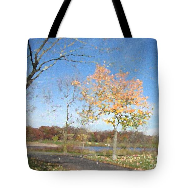 A Sparkly Fall Day Tote Bag