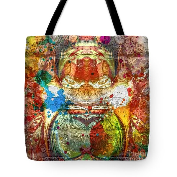 A Spattering Of Color Tote Bag