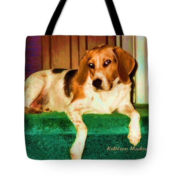 A Special Beagle Tote Bag