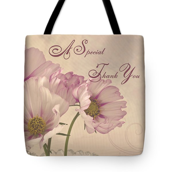 A Special Thank You - Card Tote Bag