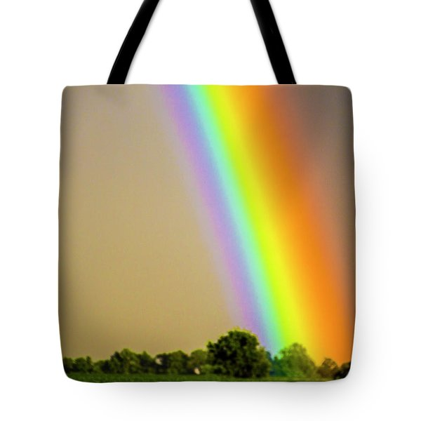 A Spectrum Of Nebraska 002 Tote Bag