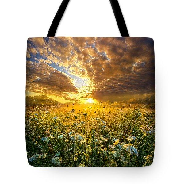 A Spiritual Calling Tote Bag