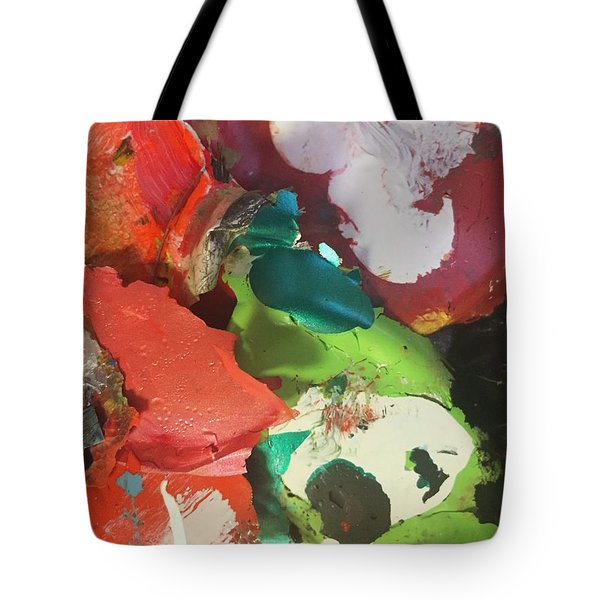 Tote Bag featuring the photograph A Splash Of Colour by Paula Brown